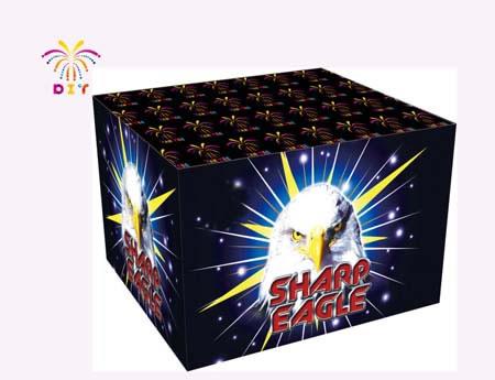 SHARP EAGLE 49S CAKE FIREWORKS