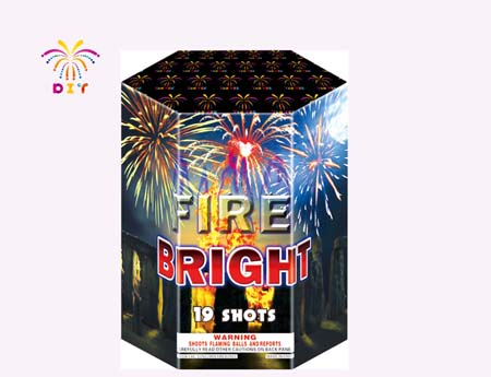 FIRE BRIGHT 19S CAKE FIREWORKS