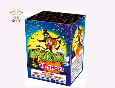 MAGICAL 25S CAKE FIREWORKS
