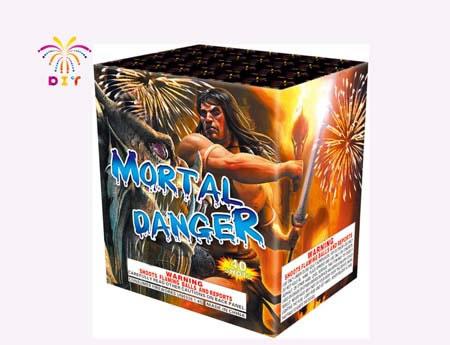 MORTAL DANGER 40S CAKE FIREWORKS