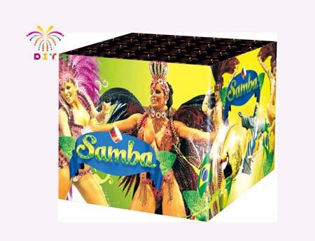 SAMBA 49S CAKE FIREWORKS