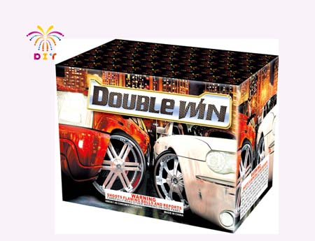 DOUBLE WIN 50S CAKE FIREWORKS