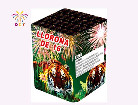 LLORONA DE 16 CAKE FIREWORKS