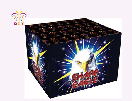 SHARP EAGLE 49S CAKE FIREWORKS