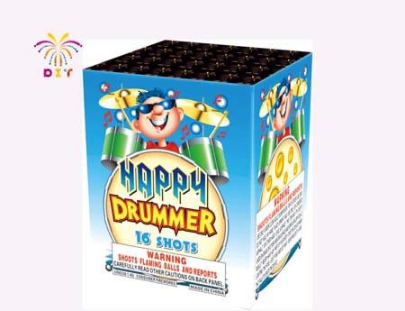 HAPPY DRUMMER 16S CAKE FIREWORKS