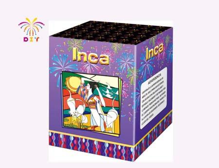 INCA 25S CAKE FIREWORKS