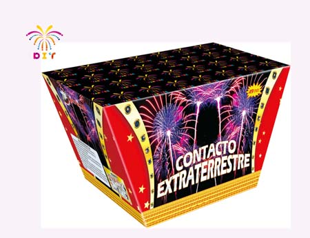 CONTACTO EXTRATERRESTRE 100S CAKE FIREWORKS
