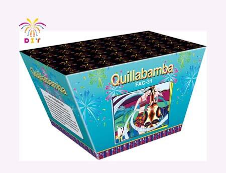 QUILLABAMBA 70S CAKE FIREWORKS