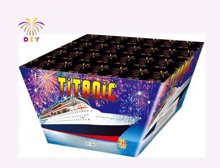 TITANIC 150S CAKE FIREWORKS
