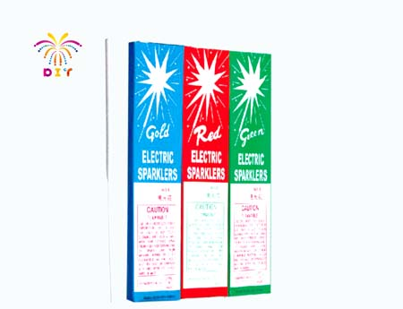 """8""""COLOR ELECTRIC SPARKLERS"""