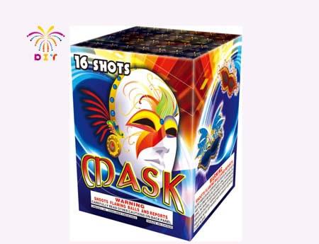 MASK 16S CAKE FIREWORKS