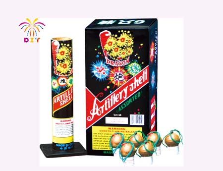 ARTILLERY SHELL ASSORTED FIREWORKS