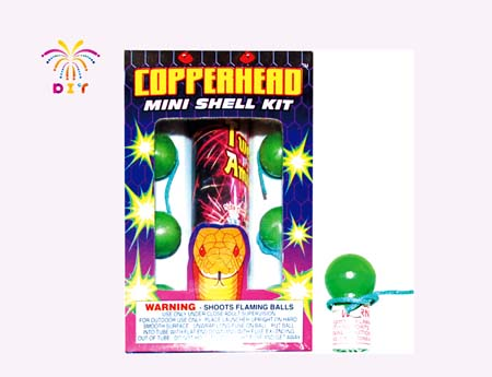 COPPERHEAD MINI SHELL FIREWORKS
