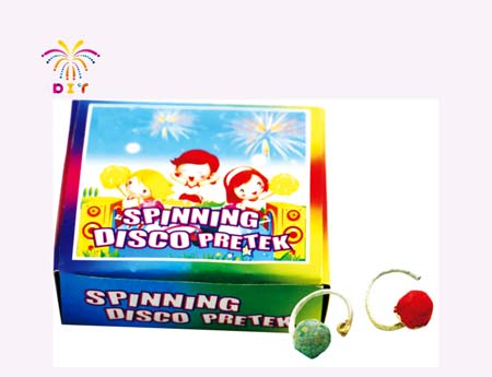 SPINNING DISCO FIREWORKS