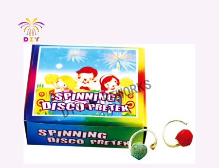 SPINING DISCO FIREWORKS