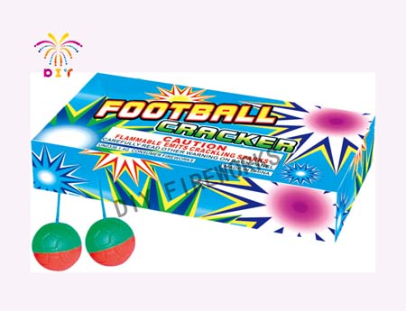 FOOT BALL CRACKER FIREWORKS